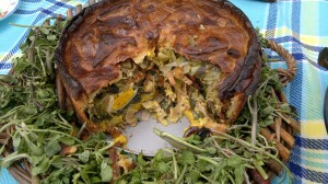 mile high wild pie, wild food, pie, recipes, vegetarian, foraging