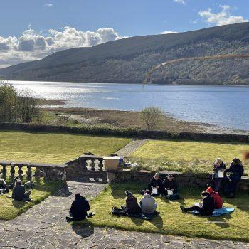 Wild food picnic, Ardkinglas, Loch Fyne